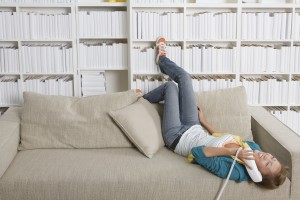 Young adults living at home 'for an easy life'