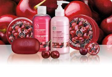 Body Shop Wild Cherry