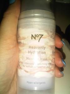No7 Heavenly Hydration Moisture Mask