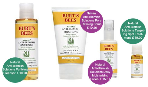 Burt's Bees Anti-Blemish Solutions