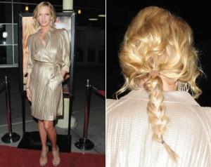 Uma Thurman plaited hair