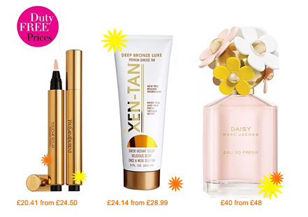 Debenhams duty free offer