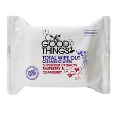 Good Things total wipeout face wipes