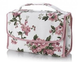 Floral Collection Vintage Inspired Hanging Cosmetic Bag, £15, by M&S