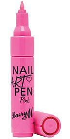 Nail art pens are an easy way to get the look.