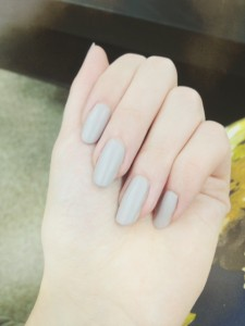 Muted and matt - the new nail colours for autumn