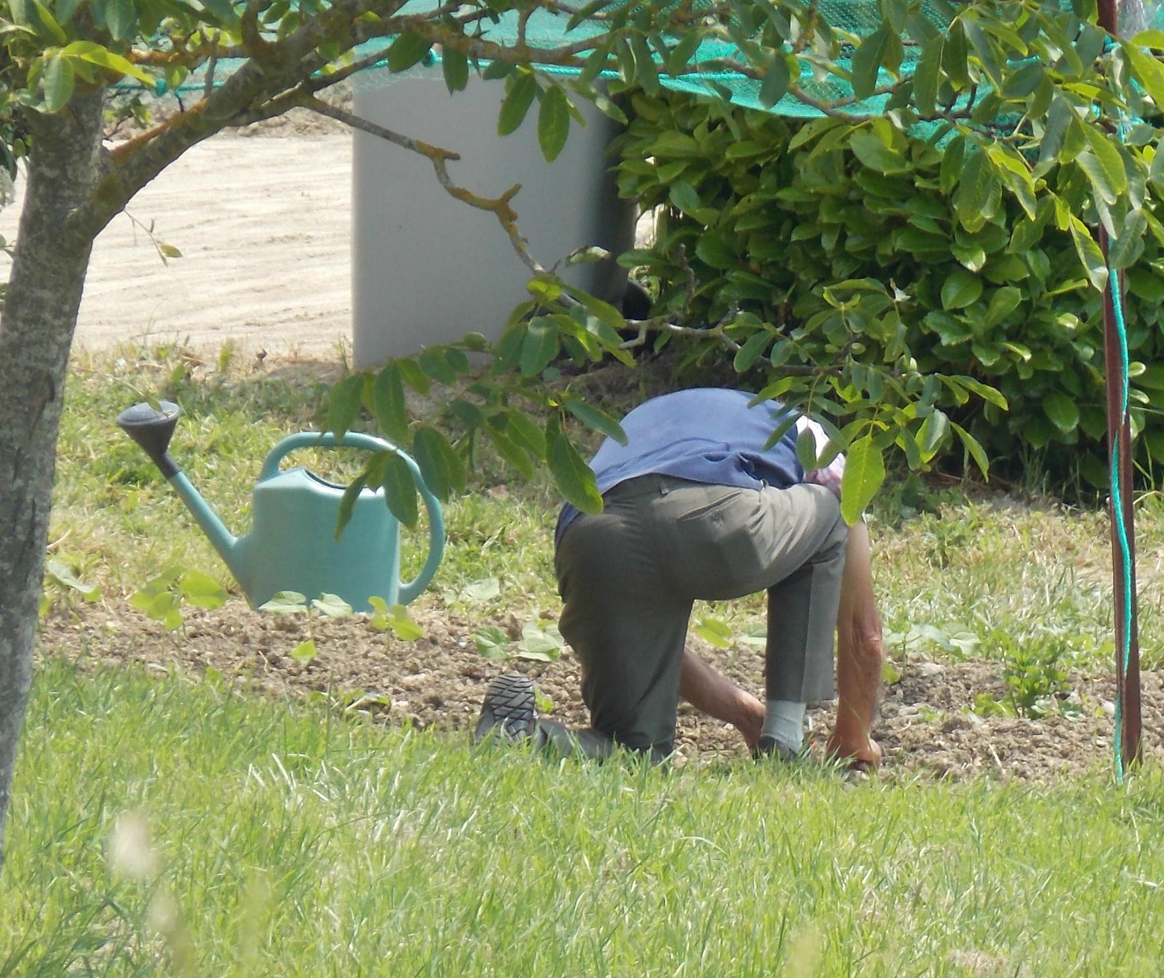 Gardening makes you happy