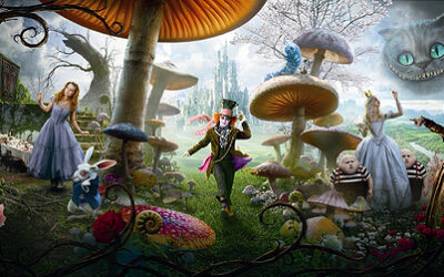 Can Alice in Wonderland detect early signs of psychosis?