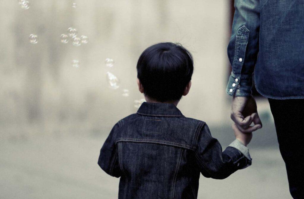Calming an anxious child