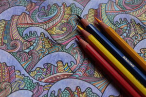 Can colouring improve well-being?