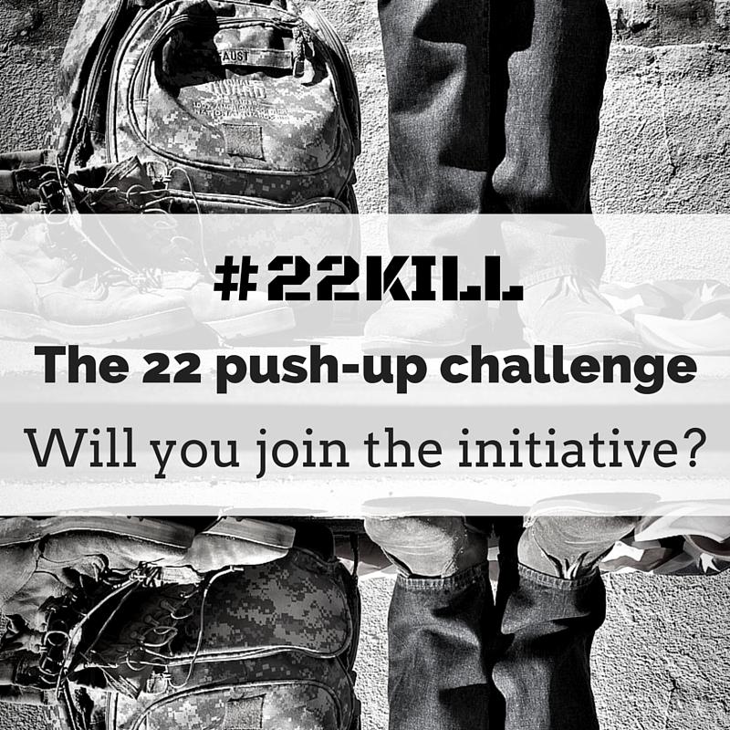 The 22 push-up challenge
