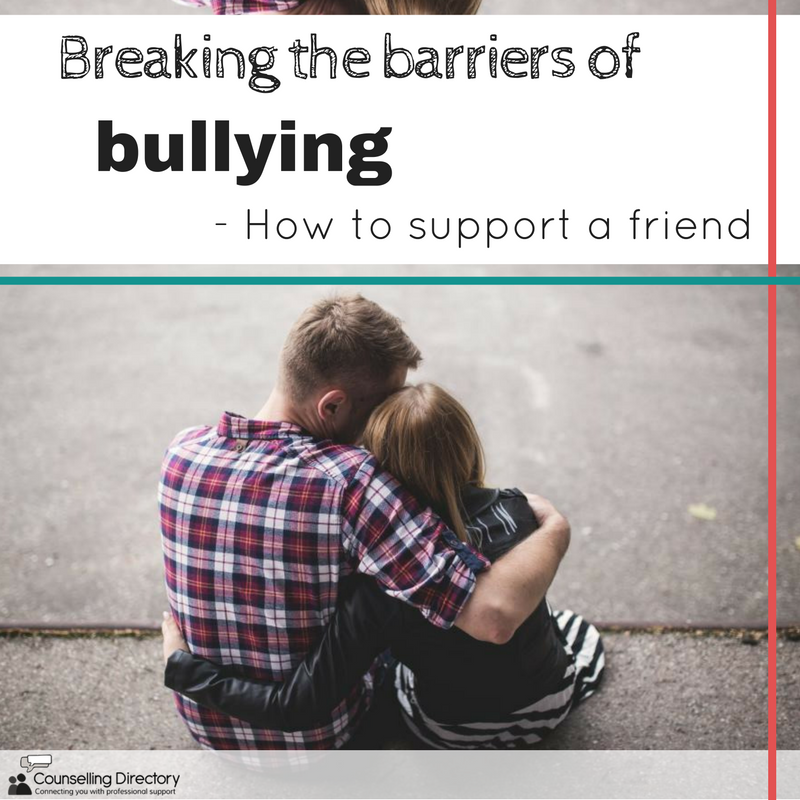 Breaking barriers: supporting a friend