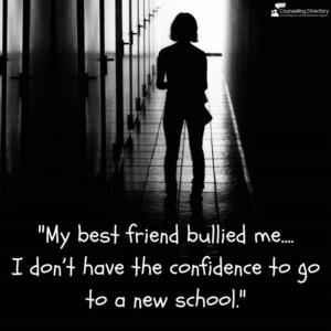 'My best friend bullied me...'