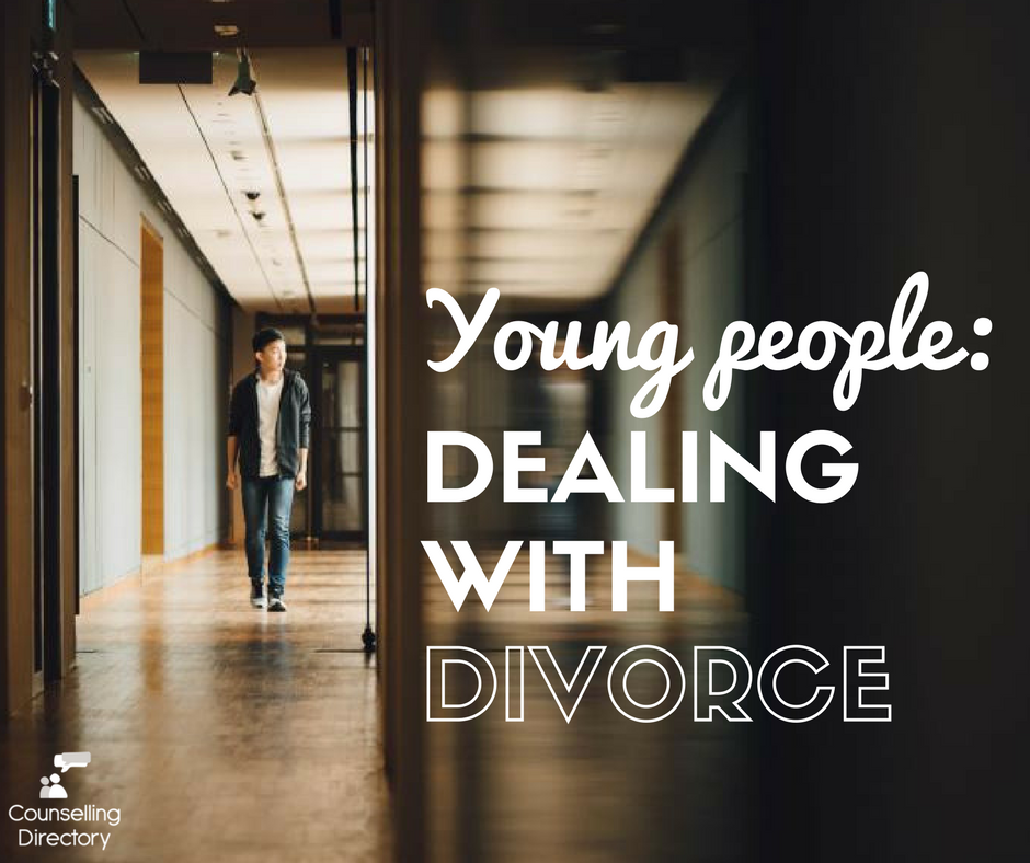 young people dealing with divorce