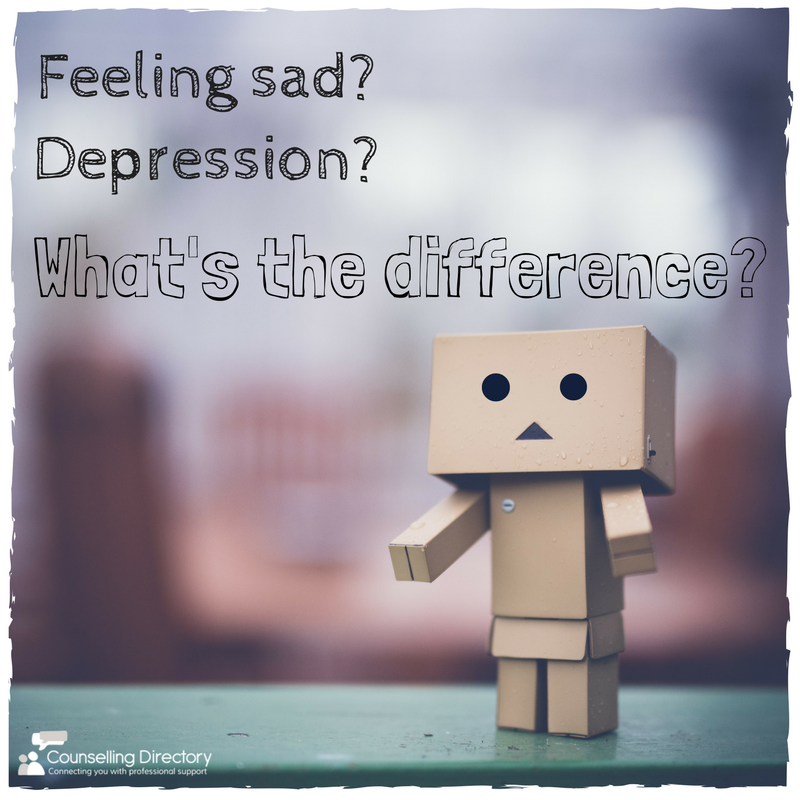 What's the difference between feeling sad or depression