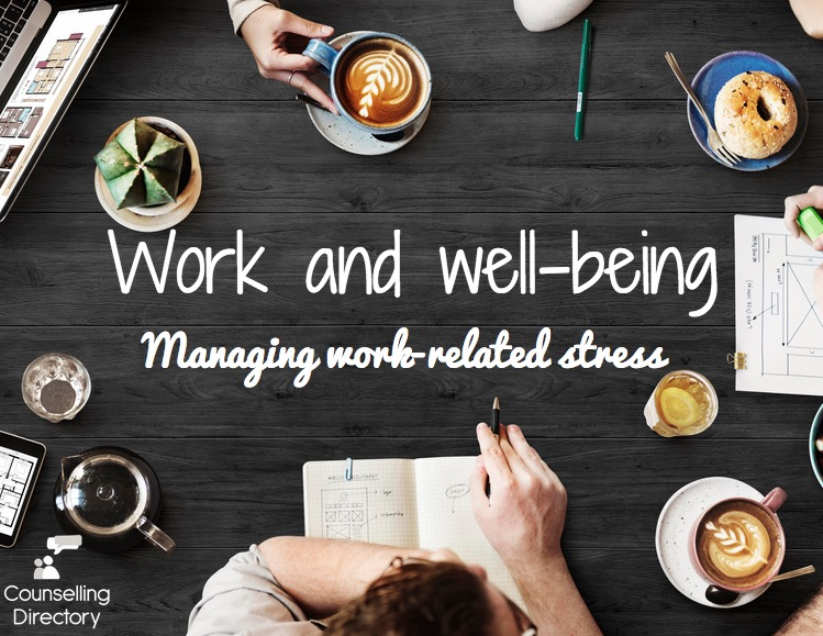 Work and well-being - manageing work-related stress