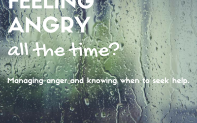 Feeling angry all the time?