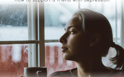 Supporting a friend with depression
