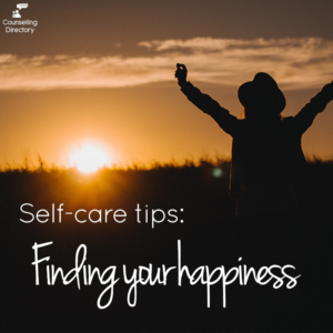 Finding your happiness - self-care tips