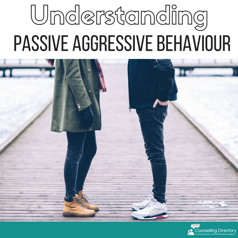 understanding passive aggressive behaviour