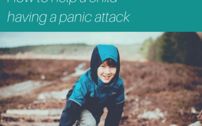How to help a child having a panic attack