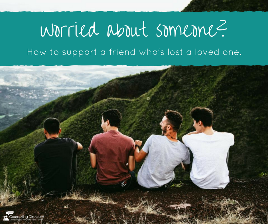 supporting a grieving friend