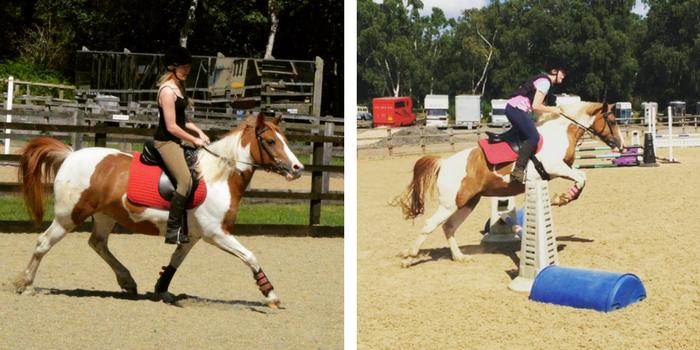 Lauren horse riding