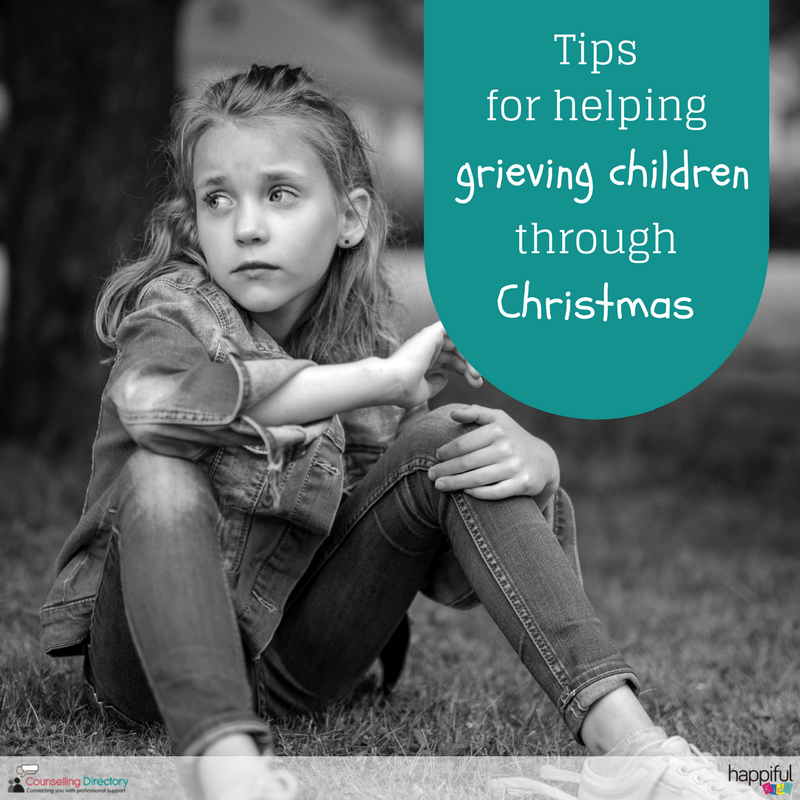 tips for helping grieving children through Christmas