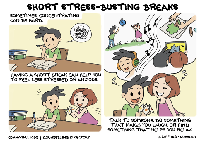 Stress-busting activites for children