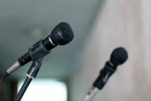 Seven public speaking tips
