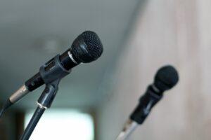 Seven public speaking tips