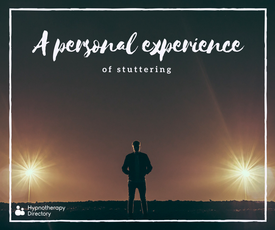 personal experience stuttering hypnotherapy directory overcoming hypnosis stutter discusses engineer software james living