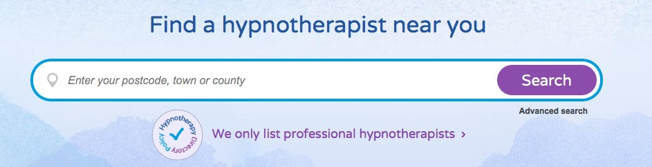hypnotherapy directory search