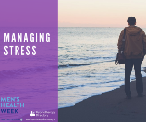 Managing stress - Men's Health Week 2016