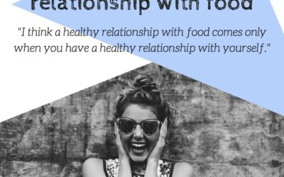How to build a healthy relationship with food