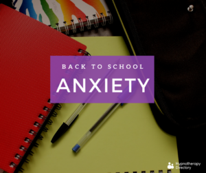 back to school anxiety