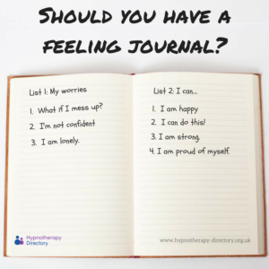 Should you have a feeling journal?