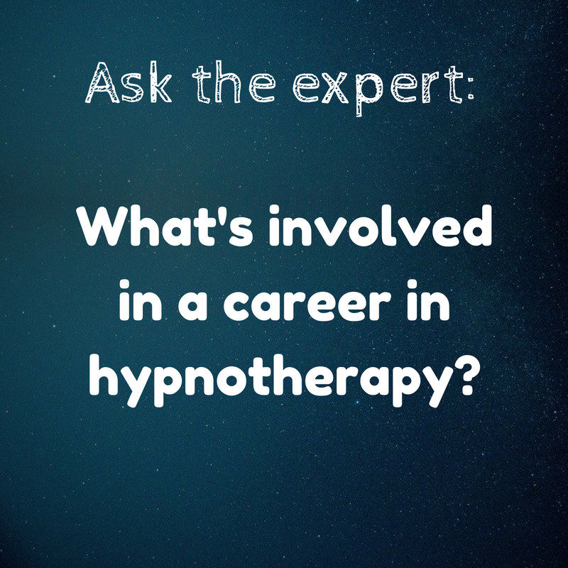 A career in hypnotherapy