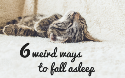 6 weird ways to fall asleep