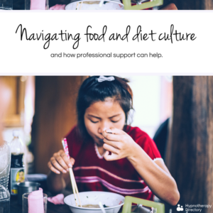 navigating food and diet culture