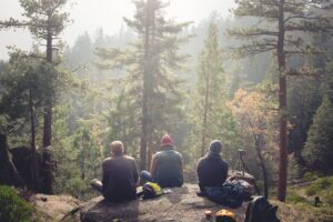 Life lessons gained from camping in the woods