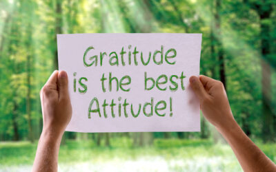 Express gratitude and change your thinking