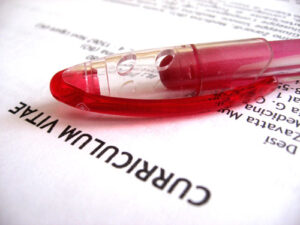Keeping your CV to two pages