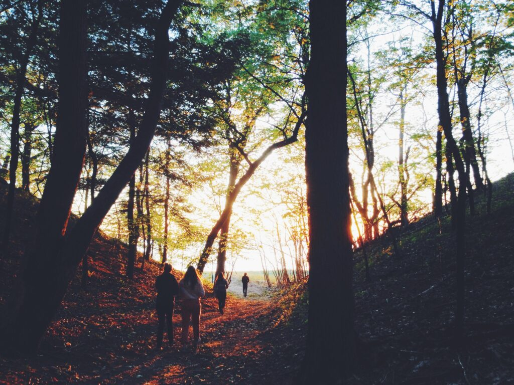 How can walking benefit your relationships?