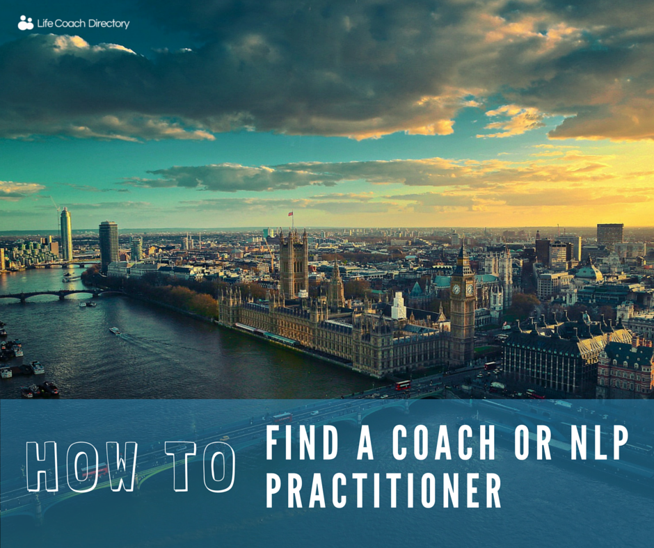 How to find a coach or NLP practitioner