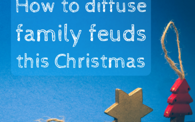 How to diffuse family feuds this Christmas