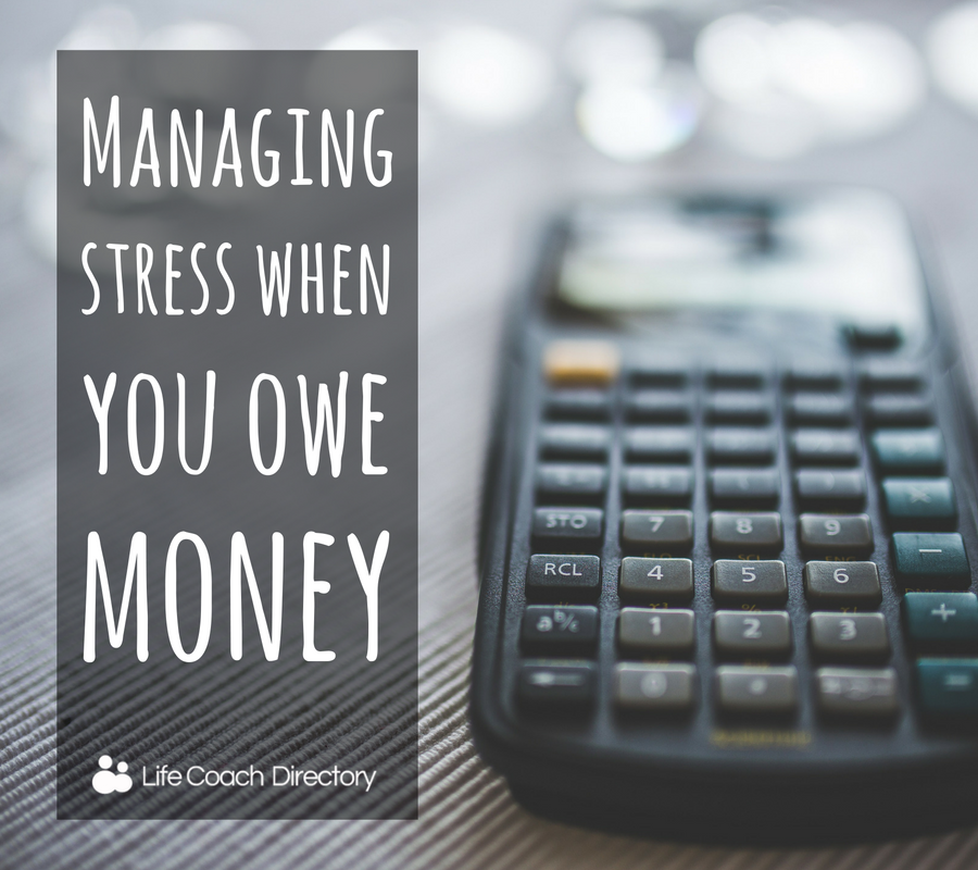 Stress owe money