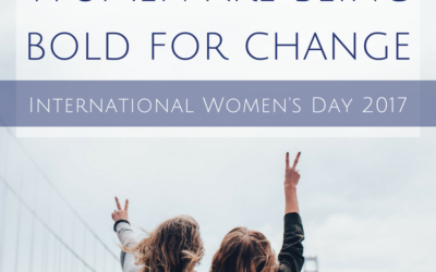 Women are being bold for change