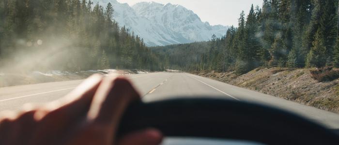Long road, horizon ahead