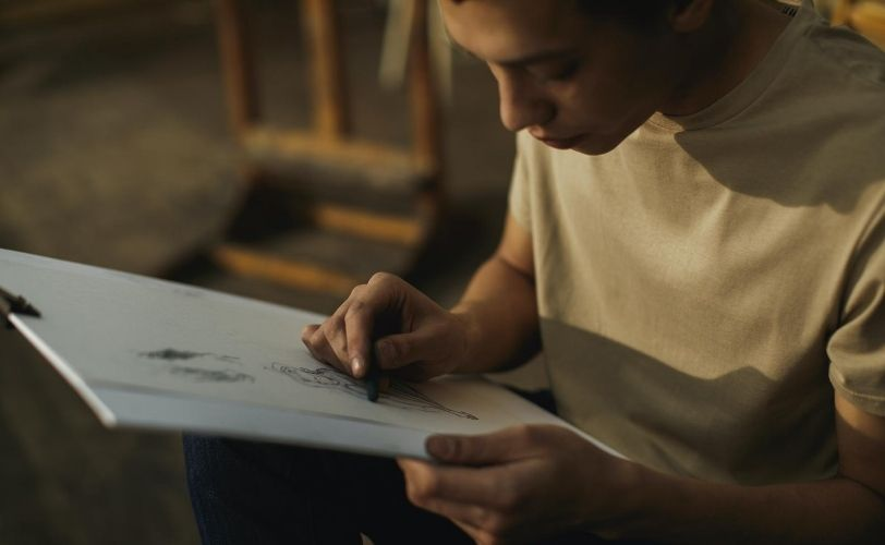 Man-sketching
